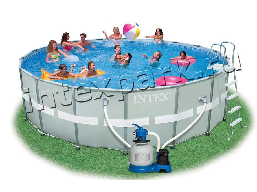 28336 Каркасный бассейн 549х132 см Intex Ultra Frame Pool