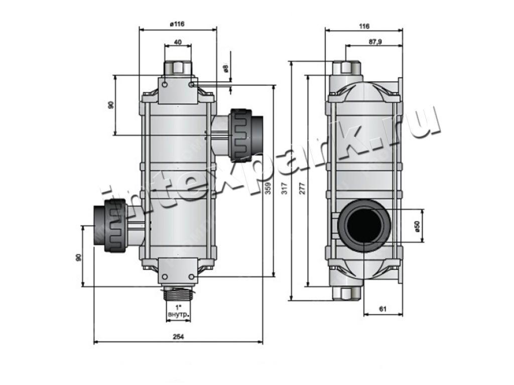 теплообменник для системы отопления частного дома